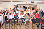 Parents Vivian Lonergan and Donny Popoola Monavalley Tralee, celebrating the christening of  Baby Elijah Rae Christened at St Brendans Church Tralee by  by Fr Padraig Walsh and after with family and Friends at  Kerins O'Rahilly's Clubhouse on Saturday