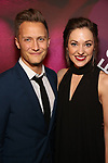 "Nathan Johnson and Laura Osnes attends the Broadway Opening Night Performance for ""Children of a Lesser God"" at Studio 54 Theatre on April 11, 2018 in New York City."