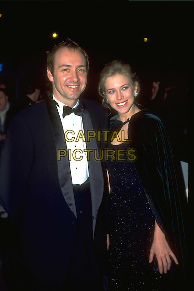 KEVIN SPACEY.Ref: 4535.tuxedo, with date, half length, half-length.www.capitalpictures.com.sales@capitalpictures.com.© Capital Pictures.