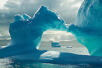 Ice window, Pond Inlet, Nunavut