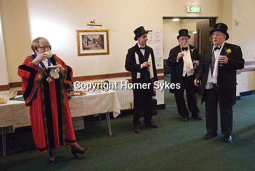Bodmin Wassailers old New Years Day 6th January 2016.<br />