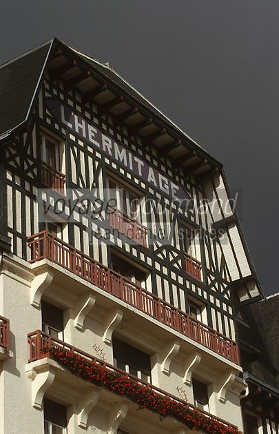 """Europe/France/Pays de la Loire/44/Loire Atlantique/La Baule: L'hôtel """"Hermitage"""" - Façade"""
