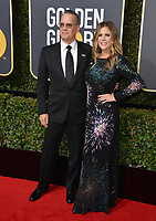 Tom Hanks & Rita Wilson at the 75th Annual Golden Globe Awards at the Beverly Hilton Hotel, Beverly Hills, USA 07 Jan. 2018<br /> Picture: Paul Smith/Featureflash/SilverHub 0208 004 5359 sales@silverhubmedia.com