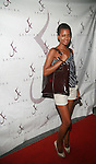 Model Eyerusalem Girma Attends SACHIKA TWINS Present REVE BOUTIQUE FASHION SHOW at The Skyroom, NY 8/2/11