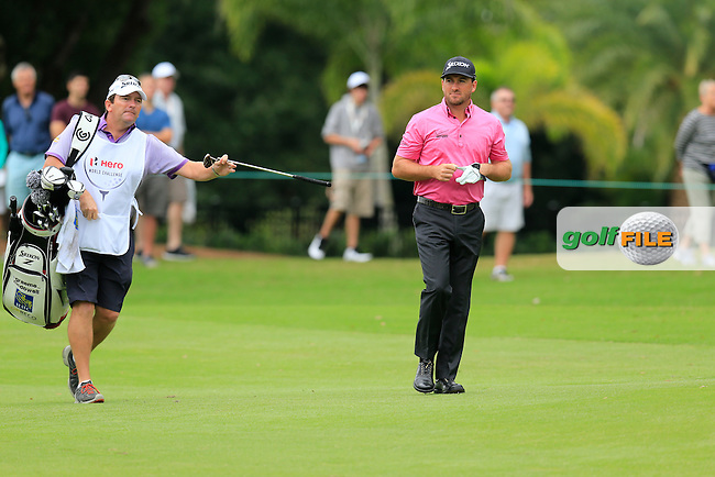 Graeme McDowell (NIR) during round 4 of the Hero World Challenge, Isleworth Golf &amp; Country Club, Windermere, Orlando Florida, USA. 07/12/2014<br /> Picture Fran Caffrey, www.golffile.ie