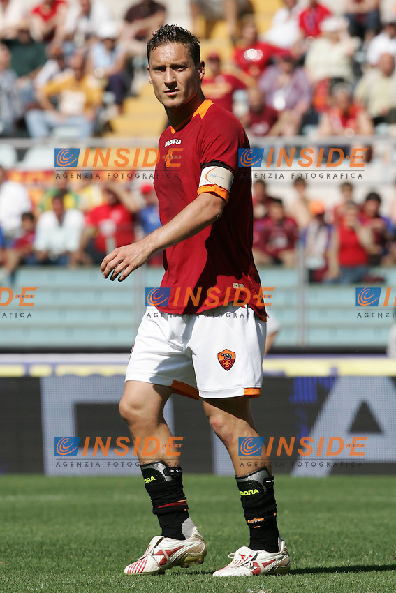 Francesco Totti (Roma)<br /> Italian &quot;Serie A&quot; 2006-2007 <br /> 14 May 2007 (Match Day 36)<br /> Roma-Torino (0-1)<br /> &quot;Olimpico&quot; Stadium-Roma-Italy<br /> Photographer:Andrea Staccioli INSIDE