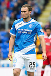 St Johnstone v Aberdeen&hellip;07.08.16  McDiarmid Park. SPFL<br />Chris Kane<br />Picture by Graeme Hart.<br />Copyright Perthshire Picture Agency<br />Tel: 01738 623350  Mobile: 07990 594431