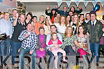 PARTY TIME: Ronan Enright, Tursillagh, Tralee (seated centre) got a big surprise when family and friends gathered to celebrate his 40th birthday at Kirby's Brogue Inn, Tralee on Saturday.