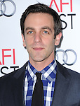 Hollywood, CA - NOVEMBER 07: B.J. Novak arrives at     The 2013 AFI Opening Night Gala - Disney's Saving Mr. Banks Screening held at TCL Chinese Theatre in Hollywood, California on November 07,2012                                                                               © 2013 Hollywood Press Agency