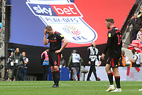 Lee Cattermole and Aiden McGeady of Sunderland show their frustration at the final whistle after losing to a last minute goal during Charlton Athletic vs Sunderland AFC, Sky Bet EFL League 1 Play-Off Final Football at Wembley Stadium on 26th May 2019
