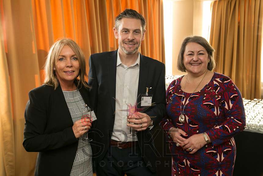 Jo Ladds of Roythornes Solicitors, Ian Morris of Threerooms and Deborah Labbate of Deborah Labbate Business Solutions