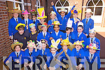 Fifth class students in Presentation Primary School, Tralee, pictured on Tuesday with hats they made for an Easter bonnet competition where all hats were made from recycled materials and was part of the schools green flag project, front row l-r: Emma Carroll, Niamh Hurley, Jessica Stephenson, Chloe Carey, Meghan Dillane, Hannah Grealish, Jasmina Gheorghe. Middle row l-r: Ciara Fitzgerald, Emma Lynch, Robyn OCallaghan, Zara Riaz, Brogan Rogers, Louise Crowley, Marigona Zeqiri. Back row l-r: Leanne Savage, Michelle Doody, Sadhbh Kilgallen, Patricia McDonagh, Alanna Collins, Kaley Molloy, Jane Lucey and Eve Walsh..