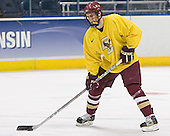 Peter Harrold - The Boston College Eagles practiced at the Bradley Center in Milwaukee, Wisconsin, on April 7, 2006 in preparation for the 2006 Frozen Four Final game vs. the University of Wisconsin on April 8, 2006.