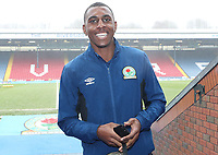 Blackburn Rovers' Amari'i Bell arrives at the ground<br /> <br /> Photographer Rachel Holborn/CameraSport<br /> <br /> The EFL Sky Bet League One - Blackburn Rovers v Oldham Athletic - Saturday 10th February 2018 - Ewood Park - Blackburn<br /> <br /> World Copyright &copy; 2018 CameraSport. All rights reserved. 43 Linden Ave. Countesthorpe. Leicester. England. LE8 5PG - Tel: +44 (0) 116 277 4147 - admin@camerasport.com - www.camerasport.com