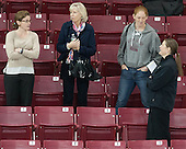 Alison Quandt, Cathy Schaus, Molly Schaus, Katie King Crowley (BC - Head Coach) - The Boston College Eagles defeated the visiting University of Maine Black Bears 5 to 1 on Sunday, October 6, 2013, in their Hockey East season opener at Kelley Rink in Conte Forum in Chestnut Hill, Massachusetts.