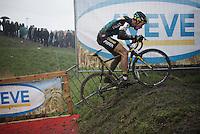 Tom Meeusen (BEL/Telenet-Fidea) tackling the muddy climbs<br /> <br /> Noordzeecross - Middelkerke 2016