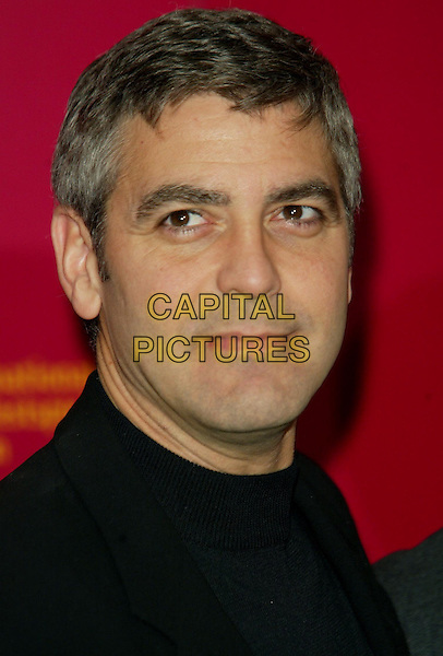 GEORGE CLOONEY.Berlin Film Festival.www.capitalpictures.com.©Capital Pictures