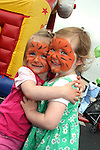 Kacey Cummins and Ellie Maxwell at the Drogheda Leisure Park Fun Day...Photo NEWSFILE/Jenny Matthews.(Photo credit should read Jenny Matthews/NEWSFILE)....This Picture has been sent you under the condtions enclosed by:.Newsfile Ltd..The Studio,.Millmount Abbey,.Drogheda,.Co Meath..Ireland..Tel: +353(0)41-9871240.Fax: +353(0)41-9871260.GSM: +353(0)86-2500958.email: pictures@newsfile.ie.www.newsfile.ie.FTP: 193.120.102.198.