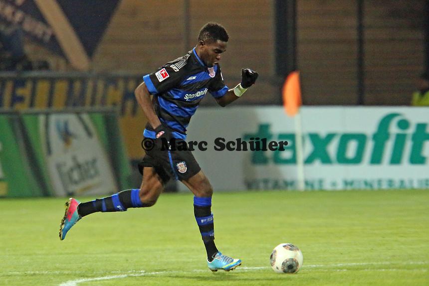 Nestor Djengoue (FSV) - FSV Frankfurt vs. Arminia Bielefeld, Frankfurter Volksbank Stadion