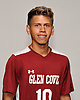 Delwin Hernandez of Glen Cove poses for a portrait during Newsday's 2016 varsity boys soccer season preview photo shoot at company headquarters on Tuesday, Sept. 6, 2016.