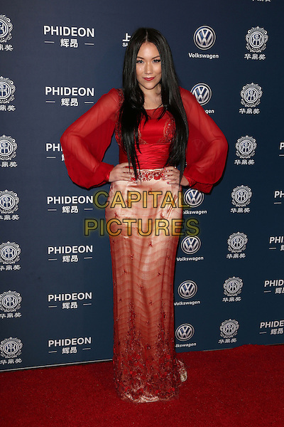 Los Angeles, CA - DECEMBER 15: Manika, At 21st Annual Huading Global Film Awards, At The Theatre at Ace Hotel In California on December 15, 2016. <br /> CAP/MPI/FS<br /> &copy;FS/MPI/Capital Pictures