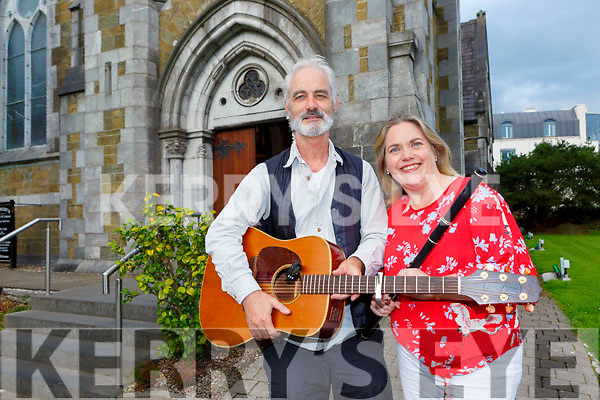 Tim O'Shea and Rosie Healy who played at the Spraoí Ciarraí concert in St Mary's Church Killarney on Saturday evening