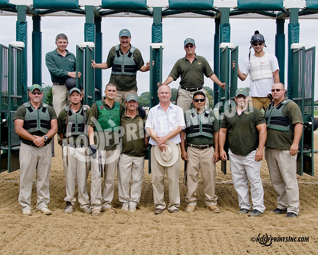 2014 gate crew at Delaware Park on 8/30/14