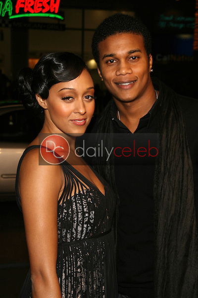Tia Mowry and Cory Hardrict<br />