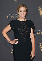 LOS ANGELES, CA - SEPTEMBER 09: Samantha Bee, at the 2017 Creative Arts Emmy Awards at Microsoft Theater on September 9, 2017 in Los Angeles, California. <br /> CAP/MPIFS<br /> &copy;MPIFS/Capital Pictures
