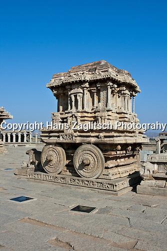 Vittala Tempel in Hampi, Karnataka, Indien