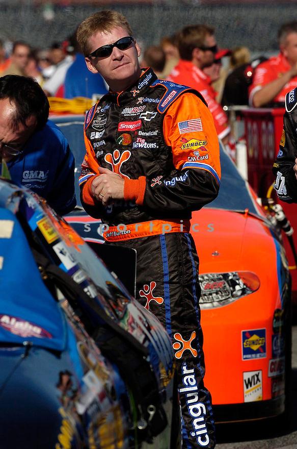 Jeff Burton during the 2005 Daytona 500...David Durochik / SportPics