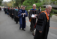 David Kasunic and Michael Shelton, who will read all of the graduates' names<br />