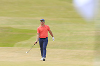 Sam Horsfield (ENG) on the 1st hole during Saturday's Round 3 of the 2018 Dubai Duty Free Irish Open, held at Ballyliffin Golf Club, Ireland. 7th July 2018.<br /> Picture: Eoin Clarke | Golffile<br /> <br /> <br /> All photos usage must carry mandatory copyright credit (&copy; Golffile | Eoin Clarke)