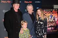 """LOS ANGELES - JAN 22:  Jake Busey, Gary Busey, Steffanie Sampson, Luke Sampson Busey at the """"Dead Ant"""" Los Angeles Premiere at the TCL Chinese 6 Theatres on January 22, 2019 in Los Angeles, CA"""