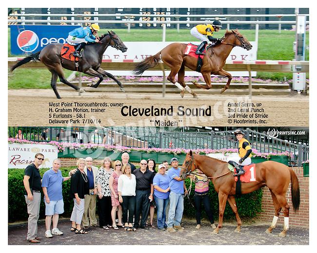 Cleveland Sound winning at Delaware Park on 7/10/14