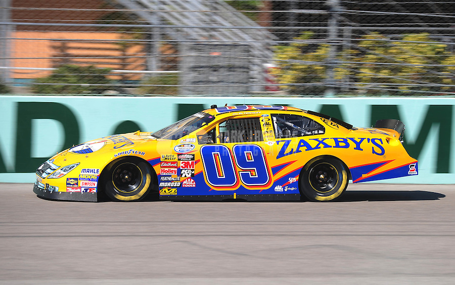 Nov. 21, 2009; Homestead, FL, USA; NASCAR Nationwide Series driver John Wes Townley during qualifying for the Ford 300 at Homestead Miami Speedway. Mandatory Credit: Mark J. Rebilas-