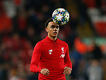 Trent Alexander-Arnold of Liverpool warms up before the UEFA Champions League match at Anfield, Liverpool. Picture date: 27th November 2019. Picture credit should read: Andrew Yates/Sportimage