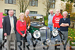 Old Style.---------.Taking part in the KVV&CCC annual Autumn run last Saturday morning outside the HQ the Kenmare Bay hotel were L-R Frank Cantillon(BallyHeigue)Sue&Mike McDonagh(Killarney)with Richard Bono,Tim O'Connell and Brendan Farmer all Tralee.