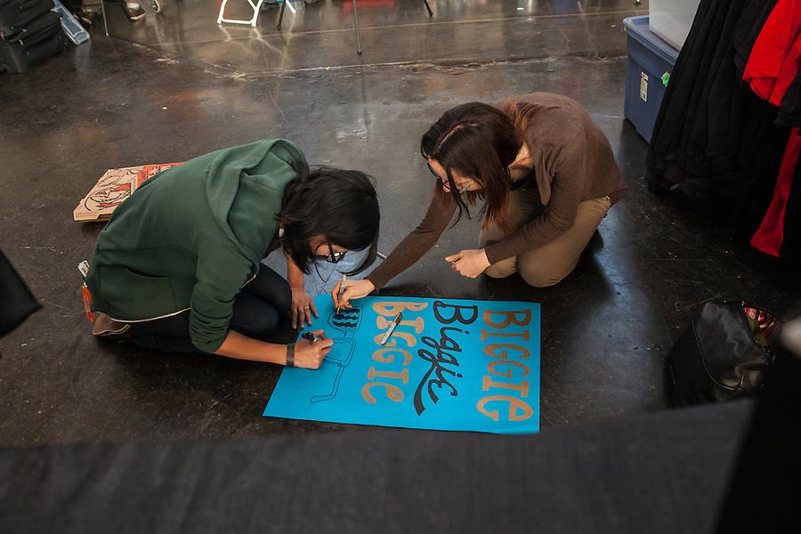 The Berkeley Resistance Defeats the San Francisco ShEvil Dead 205 to 153 in 2014 Bay Area Derby Girls Season Opener on Saturday March 1, 2014 in Richmond, California.