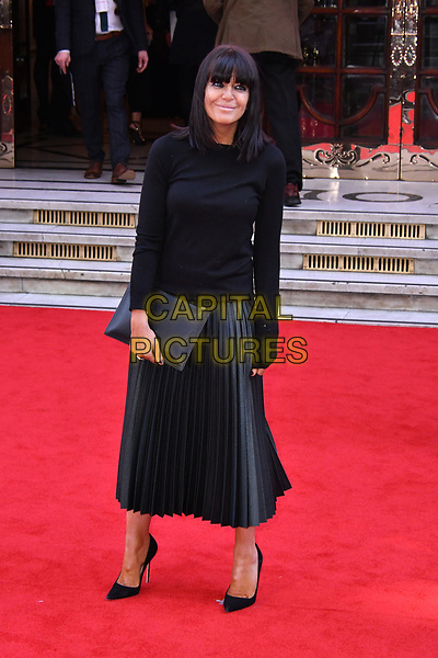 LONDON, ENGLAND - MARCH 15: Claudia Winkleman at the Prince's Trust and Samsung Celebrate Success Awards 2017, The London Palladium, Argyll Street, London, England, UK, on Wednesday 15 March 2017.<br /> CAP/JOR<br /> &copy;JOR/Capital Pictures