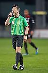 Nederland, Utrecht, 30 maart 2012.Eredivisie .Seizoen 2011-2012.FC Utrecht-Excelsior (3-2).Scheidsrechter Bjorn Kuipers