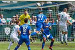 13.07.2019, Parkstadion, Zell am Ziller, AUT, FSP, Werder Bremen vs. Darmstadt 98<br /> <br /> im Bild / picture shows <br /> Immanuel Höhn (Darmstadt 98 # per Kopfball Jiri Pavlenka (Werder Bremen #01) haelt<br /> Felix Beijmo (Werder Bremen #02)<br /> Mathias Honsak (Darmstadt 98 #<br /> Yuya Osako (Werder Bremen #08)<br /> <br /> Foto © nordphoto / Kokenge