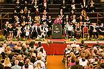 University graduation degree award ceremony, St Andrews Hall, Norwich, England
