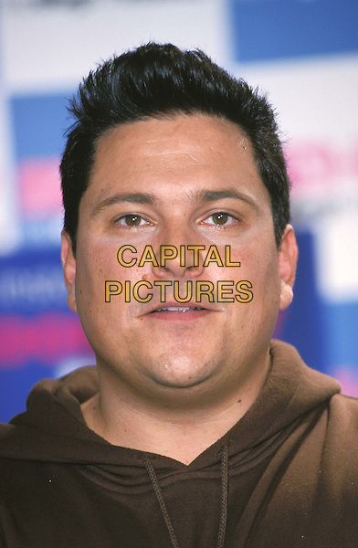 DOM JOLY.Ref:11222.headshot, portrait.*RAW SCAN - photo will be adjusted for publication*.www.capitalpictures.com.sales@capitalpictures.com.© Capital Pictures