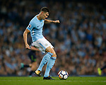 John Stones of Manchester City during the Premier League match at the Eithad Stadium, Manchester. Picture date 21st August 2017. Picture credit should read: Simon Bellis/Sportimage