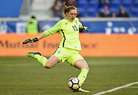 Harrison, N.J. - Sunday March 04, 2018: England during a 2018 SheBelieves Cup match between the women's national teams of the Germany (GER) and England (ENG) at Red Bull Arena.