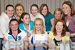 Quiz Time: At the Duagh Ladies GAA Team Table Quiz in OBriens Bar, Duagh, on Friday night were (seated front l-r) Therese Cronin, Jennifer Quirke and Patricia OConnor. (Back l-r) Breda Walsh, Amber Reidy, Nonnie Cronin, Grainne Keane, Brenda Hayes, Lynda McElligott and Liz Twomey..