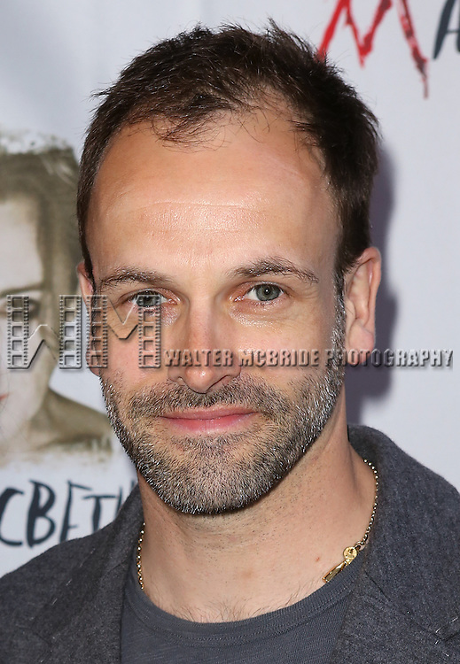 Jonny Lee Miller attending the Broadway Opening Night Performance of 'MACBETH' starring Alan Cumming at The Barrymore Theatre  in New York City on 4/21/2013...