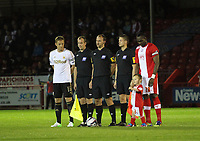 Capital One League Cup, Third Round, Crawley Town (red) v Swansea City (white) 25/09/12<br />