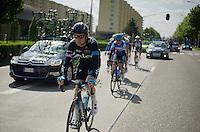 Geraint Thomas (GBR/SKY) returning to the peloton<br /> <br /> 102nd Scheldeprijs 2014